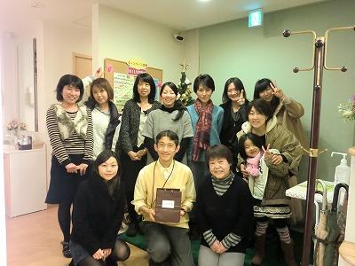 2011年表彰式 千葉市原田歯科
